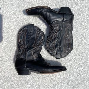 🔴ARIAT BLACK BOOTS🌺 WOMENS SIZE 9.5B STYLE 42258